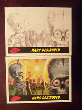 2017 Topps MARS ATTACKS: The Revenge Complete 110 Card Set 1-55 & P1-P55 w/ BOX