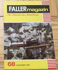 Faller AMS ---  Faller Magazin 68, Dezember 1968