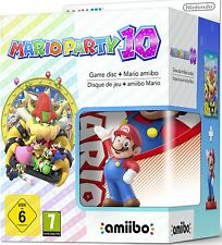 Mario Party 10 & Mario amiibo For Nintendo Wii U Game Console (UK PAL)