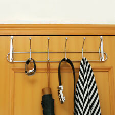 12 over the door clothes hooks Stainless Steel