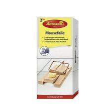 Trampa para ratones de madera y metal AEROXON 2uds