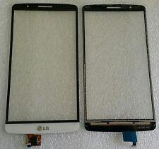 Displayscheibe Touch Screen Display Glas Scheibe Flex Weiss für LG G3 D850 D855