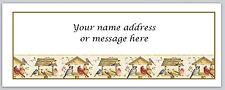 30 Personalized Return Address Labels Birds Buy 3 get 1 free (bo 440)