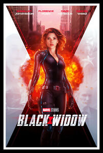 Black Widow Movie Poster Print & Unframed Canvas Prints