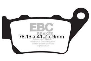 FIT HUSQVARNA TE 630 (48mm diameter Marzocc 10>12 EBC Organic Pad Set Rear Right