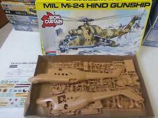 Monogram MIL Mi-24 Hind Gunship Helicopter Model Kit 1/48
