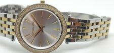 Ladies MICHAEL KORS Darci Silver Dial Two Tone Wrist Watch MK3215  (260F)