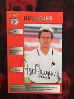 Autogramm JUPP HEYNCKES-Benfica Lissabon-NS BRD-Ex-Bor.M'gladbach/Schalke 04-AK