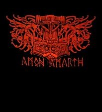 AMON AMARTH cd lgo BLOOD EAGLE Official SHIRT MED New deceiver of the gods