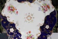 Handpainted Georgain Plate John Ridgway 1830 -1841 19th Century Victorian