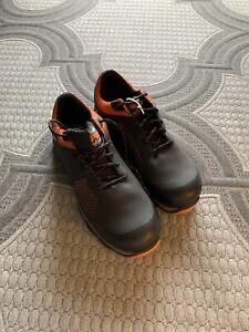 timberland pro Athletics Shoe 10.5 W Black/orange Composite Toe Waterproof
