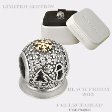 Authentic Pandora Silver Wonderland Holiday Black Friday 2015 Bead USB794200