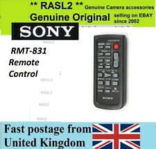 Original SONY RMT-831 WIRELESS REMOTE CONTROL handycam DCR HC1000 HC46 40 36 30