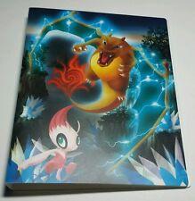 Rare 2006 Japanese Pokemon Center Crystal Charizard 4 Pocket Binder Card File