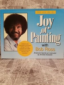 More Joy of Painting With Bob Ross  -  1st Edition - 1991 - Hardcover Book