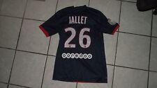 ancien maillot non porté  PSG paris saint germain JALLET taille Xs ? 2014