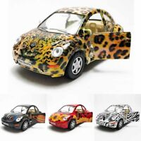 Kinsmart 1:32 Die-cast Volkswagen New Beetle Printing Car Model with Box Collect