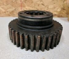 """Used 8"""" Machine Gear Part,Steampunk,Industrial Decor,Upcycle as Lamp Base?18 lb"""