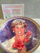 Collector Plate Princess Diana England's Rose 1997 #6854
