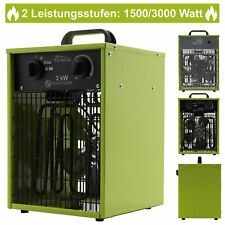 Heizlüfter Elektroheizer Heizung Heizer Schnellheizer Heizgerät Bauheizer 3kW