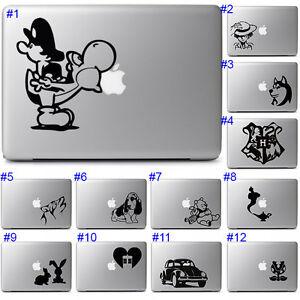 Cute Fun Animal Laptop Decal Vinyl Sticker for Apple Macbook Notebook Air Pro