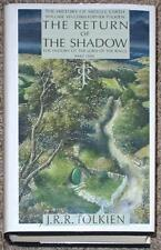 RETURN OF THE SHADOW ~ VOL VI ~ TOLKIEN ~ HISTORY OF MIDDLE-EARTH ~ 1st PRINT HC