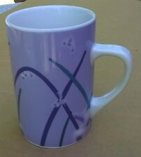 2004 Starbucks Lavender Reed Grass & Fireflies 12 oz. Coffee Cup Mug Excellent
