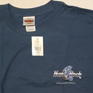 Hard Rock Cafe Philadelphia T-Shirt NWT Size Large Double Dragon Cool Graphic!