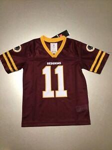 Washington Redskins Apparel Jersey Shirt Kids Size X Small XS 4/5 #11 Alex Smith