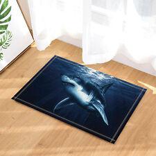 Door Mat Bathroom Rug Bedroom Carpet Bath Mats Hand painted shark 40*60cm