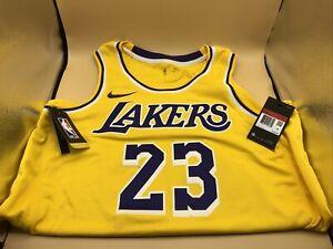 Nike Los Angeles Lakers Swingman Lebron James Jersey. Adult Size: Large