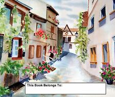 Bookplates, A Taste of Europe, travel, memories