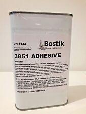 Bostik 3851 Latex Rubber Adhesive Glue 600ml latex Sheet Adhesive catsuit repair