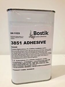 Bostik 3851 Latex Rubber Adhesive 600ml latex glue Sheet Adhesive catsuit repair