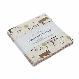Cottontail Cottage by Bunny Hill Designs Charm Pack for Moda Fabrics