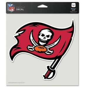 "Tampa Bay Buccaneers NFL 8""x8"" Decal Sticker Primary Team Logo Die Cut Car Auto"