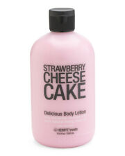 New Hempz Treats Strawberry Cheesecake Delicious Body Lotion 18.6 fl oz HUGE!