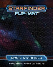 2017 Paizo Starfinder Roleplaying Game: Starfinder Basic Starfield Flip Mat
