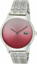 Lacoste Women's Nikita Quartz Watch with Stainless-Steel Strap, Silver 2000991