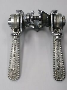 Vintage Campagnolo  Nuovo Super Record Shifters Levers Clamp-on