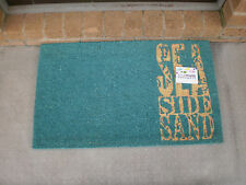 Sea Side Sand - Natural Coir on PVC Backing Door Mat