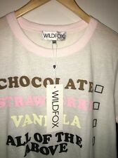Wild fox Size M S/S T. Good Price!!!