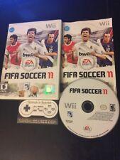 FIFA Soccer 11 (Nintendo Wii, 2010) Complete Cib