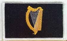 IRISH Ireland Harp Flag Patch With VELCRO Brand Fastener Shoulder Emblem #2