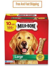 Milk-Bone Original Dog Treats for Large Dogs, 10 Pounds