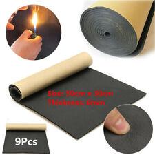 6mm Autos Firewall Sound Deadener Heat Insulation Deadening Noise Material Mat