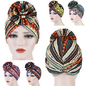 Women Hair Loss Scarf Cancer Chemo Cap Muslim Turban Hat Hijab Head Wrap Hot