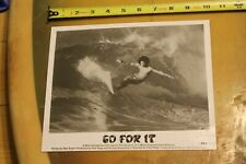 Larry Bertlemann GO FOR IT T&C 1976 Surf Rare Cr8 Vintage Surfing OG Press PHOTO