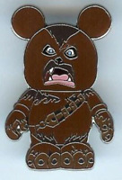 Disney Pin 77551 Vinylmation Mystery Star Wars Chewbacca Wookiee Disneyland 2010