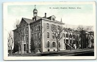 1920s St. Joseph's Hospital Mankato Minnesota MN Vintage Postcard B23